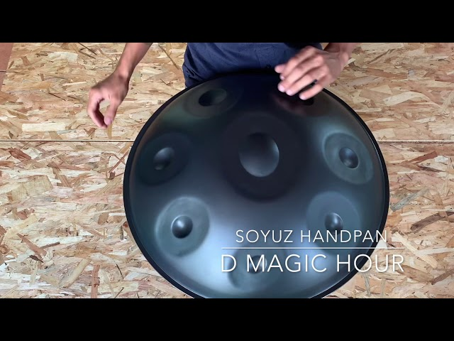 Soyuz Handpan D Magic Hour