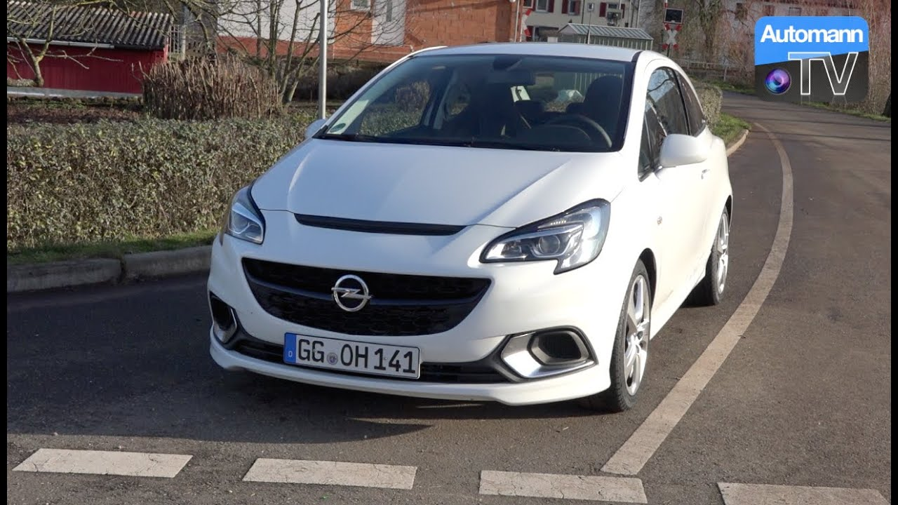 2016 opel corsa opc 207hp drive sound 60fps youtube. Black Bedroom Furniture Sets. Home Design Ideas