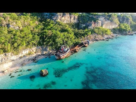 Abandoned Ships in the Caribbean