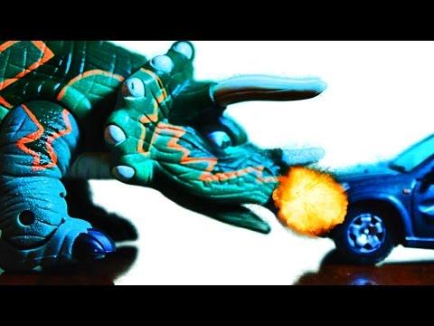 Dinosaur  sound and toy animation