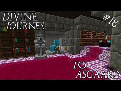 Minecraft 1.7.10 Divine Journey Ep 18: Automating the Library