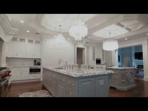 Grand Kitchen Covered In Mother Of Pearl Luxury Home Tour Youtube