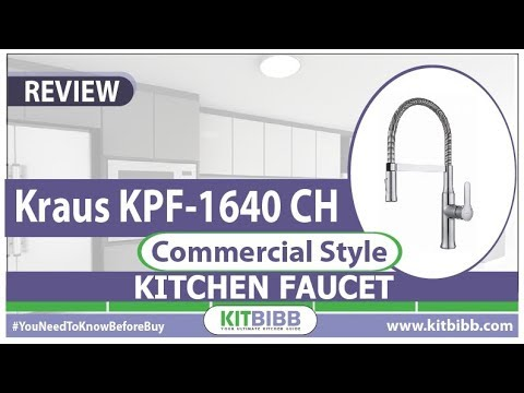 Best Kitchen Faucet For Hard Water Reviews 2018 Kraus Kpf 1640ch