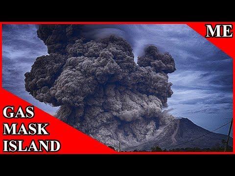 ✔ The Japanese Gas Mask Island Miyakejima Japan