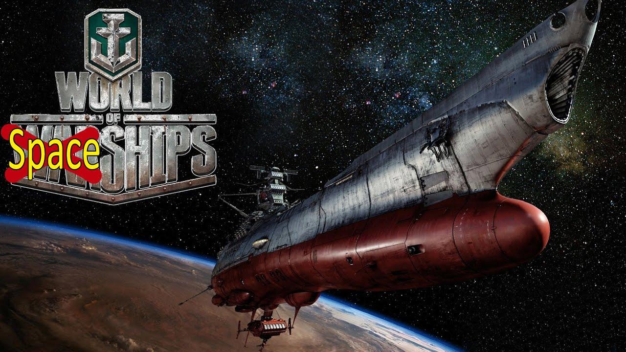 World of Warships Space Battles event XXX Yamato Battleship - YouTube
