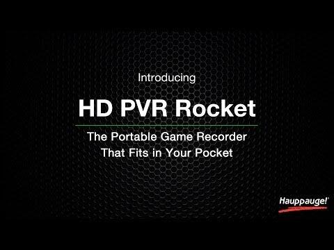 Hauppauge HD PVR Rocket Portable Gaming Recorder