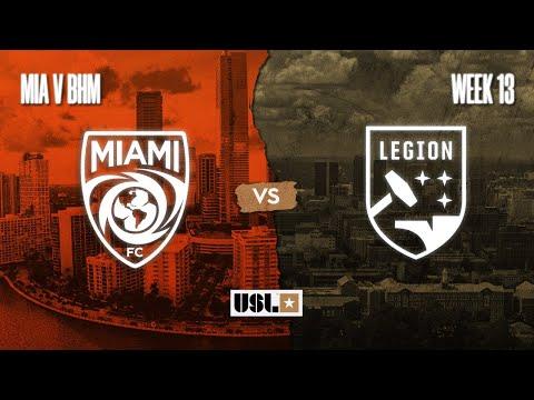 Miami FC vs. Birmingham Legion FC: September 16, 2020