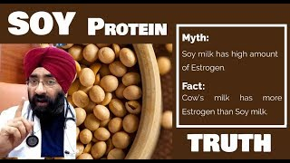 FINAL VERDICT - SOY PROTEIN IS GOOD OR BAD | Dr.Education (Eng)