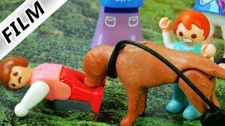 Playmobil Film deutsch | EMMA BEIßT BÖSEN HUND auf dem Spielplatz | Kinderserie Familie Vogel