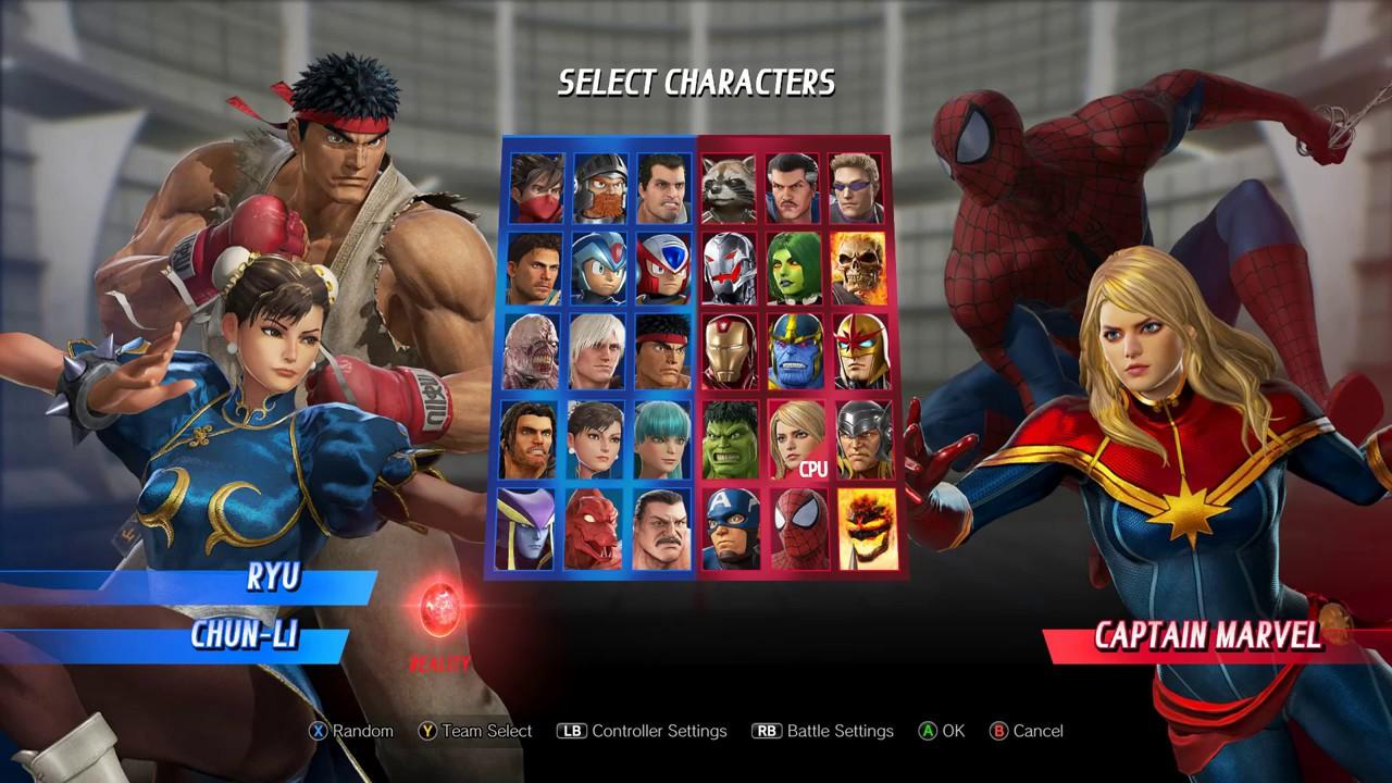 MvCI Mod - Marvel vs Capcom Player Select Remix