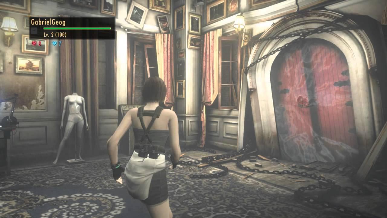 Resident Evil Revelations 2 Raid Mode Stage I Jill Valentine Re3