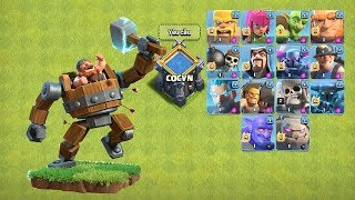 ✅Battle Machine VS All Single Troops  | Clash of Clans