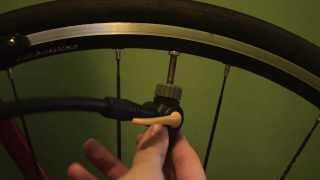 How to Inflate a Bicycle Tire: Presta Valve
