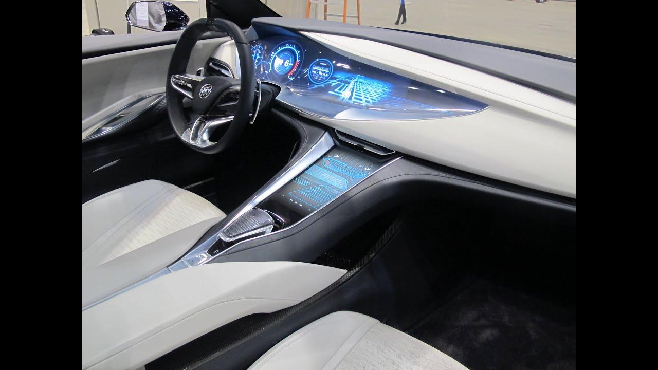 Buick Avista Concept Car -- First Look Inside! - YouTube