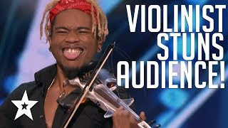 KING OF THE STRINGS! Violinist Brian King Joseph BLOWS The Judges Away On America's Got Talent 2018