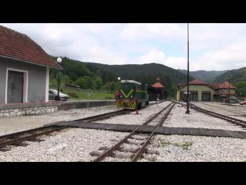 Kolejka wąskotorowa Šarganska Osmica - Mokra Gora - Serbia