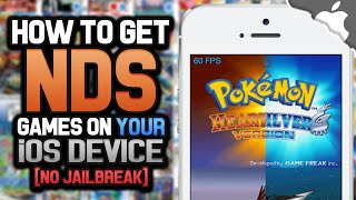 nds4ios: How To Get a Nintendo DS Games ROMs on an iOS Device! (NO JAILBREAK) (NO COMPUTER)