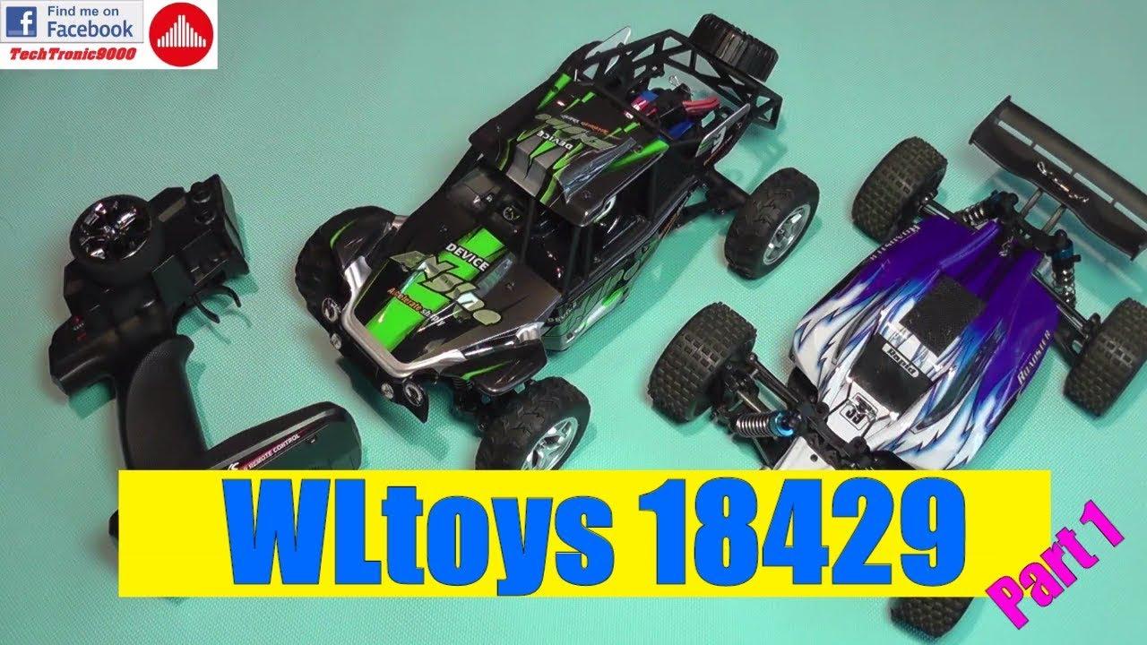 WLtoys 18429 - 1:18 4WD Desert Buggy - Full Review - Part 1