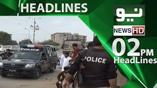 News Headlines | 02:00 PM | 17 June 2018 | Neo News