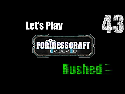 FortressCraft Evolved : Rushed - Ep 43 Coal Enrichment |