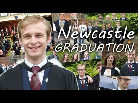 Graduation from Newcastle University