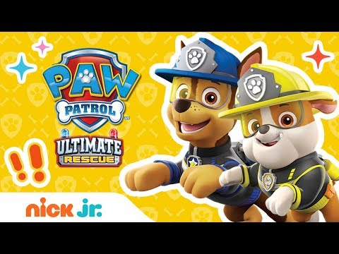 PAW Patrol's Ultimate Rescue Moments Ft. Marshall, Chase, Skye, & More! | Nick Jr.