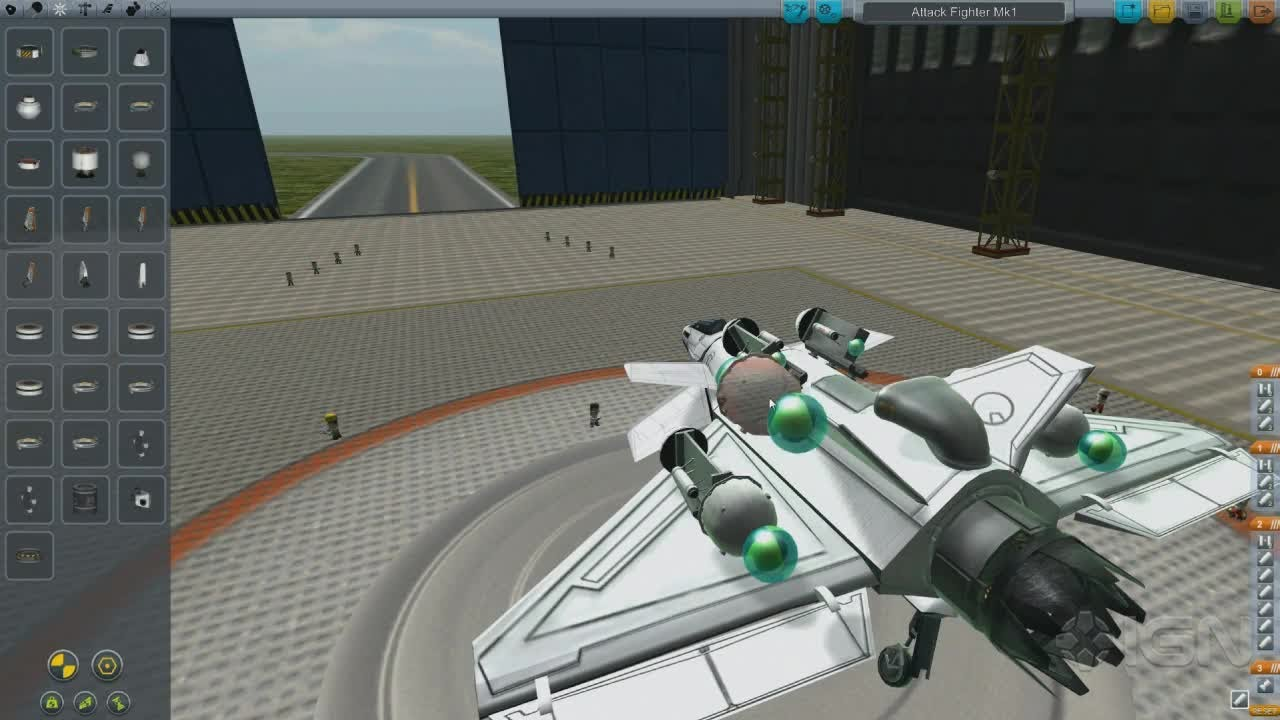Make an Attack Fighter in Kerbal Space Program - IGN Plays ...