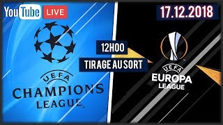 ️AUSLOSUNG CHAMPIONS LEAGUE UND EUROPA LEAGUE 2018-2019 - PLATZ IN DER SHOW ! / 17-12-2018