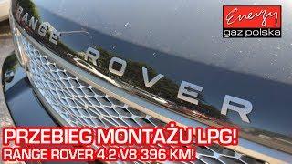 Przebieg montażu LPG Range Rover 4.2 V8 396KM 2005r na auto gaz BRC w Energy Gaz Polska