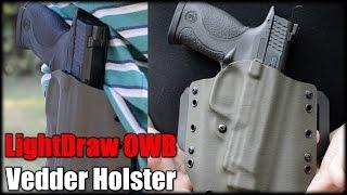 M&P 45 ACP  LightDraw OWB Vedder Holster