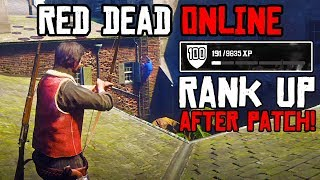 RANK UP FAST AFTER PATCH RED DEAD ONLINE! Best Way How To Rank Up Fast After Patch Red Dead Online!