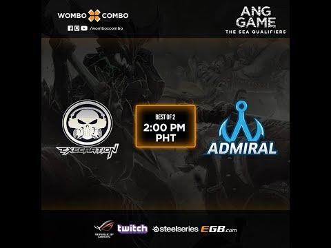 Execration vs Admiral Game 1 (BO2) l AngGaming Tournament