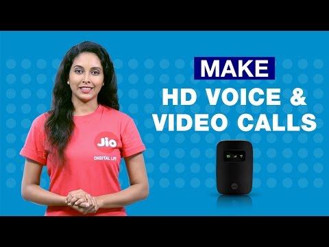 JioFi - How To Make HD Voice Calls, Video Calls from 2G, 3G, 4G Smartphone with Jiofi   Reliance Jio