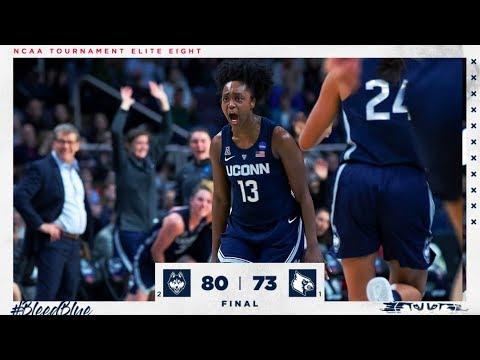 UConn Womens Basketball Highlights v. Louisville 03/31/2019 (NCAA Tournament Elite Eight)