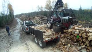 Repeat youtube video 330 hp firewood processor