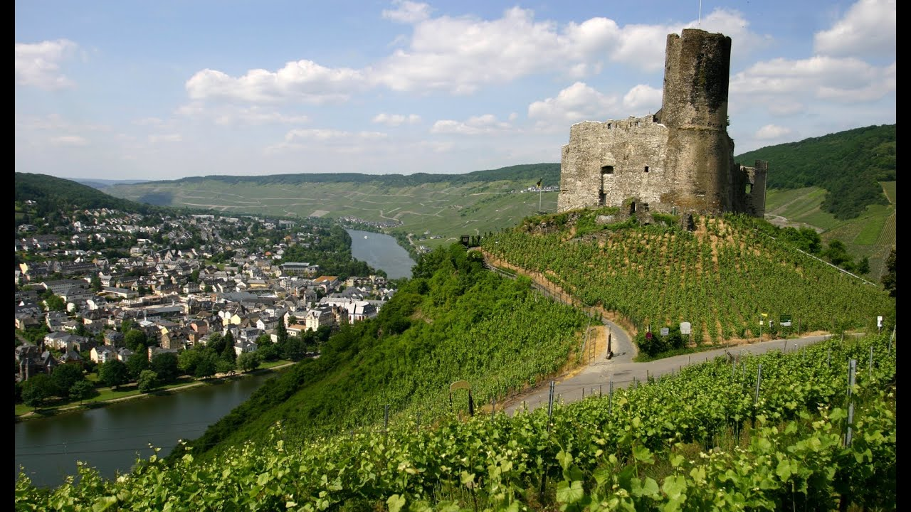 Bernkastel Kues in Mosel in Germany   travel video about German Moselle Valley   YouTube