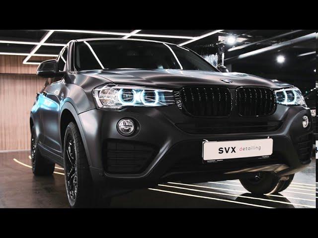 BMW X4: восстановление и надежная защита