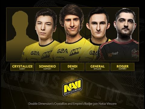 NaVi new roster — position 1 carry crystallized !! 5 games  (sniper,CK,Monkey,ArcWarden,LS)