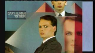 gary numan-the touring principle-radio advert