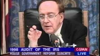 General Accounting Office 1998 IRS Audit