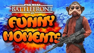 Star Wars Battlefront Funny Moments Montage [ FUNTAGE ] #37 - Return Of The silkiewhisperer!