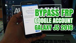 Bypass FRP Google Account Samsung Galaxy J5 2016 SM-J510 Tanpa PC