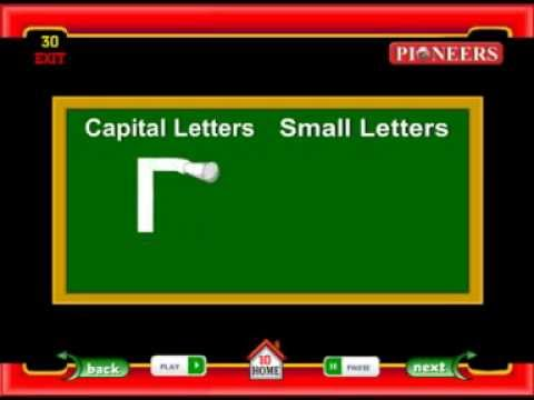 Common Worksheets capital letters and small letters : Capital Letters and Small Letters | Learn English | Pioneers ...