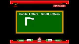 Capital Letters and Small Letters | Learn English | Pioneers Education