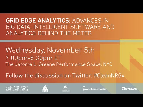 Grid Edge Analytics: Advances in Big Data, Intelligent Software and Analytics Behind the Meter