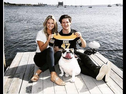 Torey Krug And His Wife Melanie Flood Youtube
