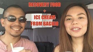 Vlog: Recovery Food & Artisanal Ice Cream | Denise Yalung