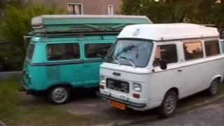 Fiat 900T Amigo ( part 2 ) and Fiat 900E 8 pers. (camper?)