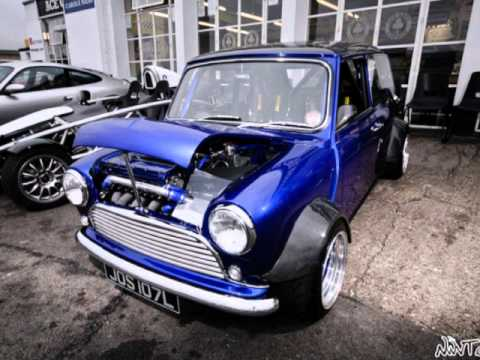 The Modified Mini Coopers
