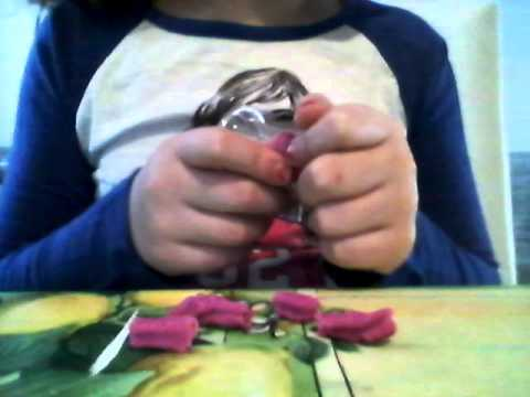 Rosalka modeluje s Play_Doh